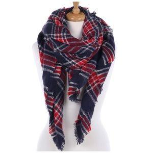 Plaid blanket scarf 🍂🍁🌻 NWT